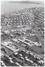 black and white historic image of Parap School